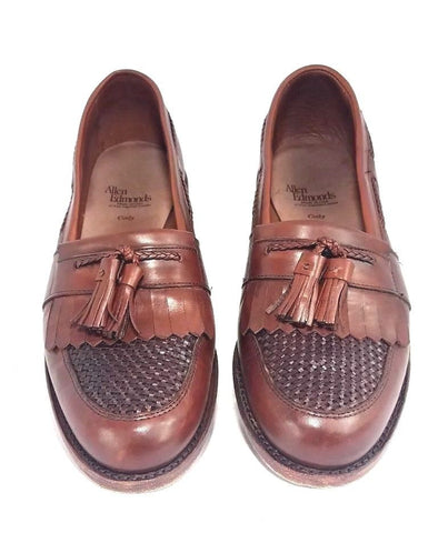 Allen Edmonds Cody Kiltie Tassel Woven Men Loafers Size 11C