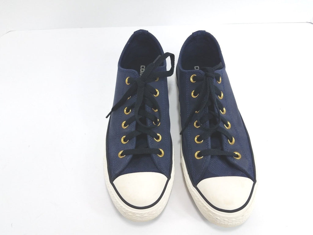 5876012567 Converse Chuck Taylor All Star Suede Navy Low Men Athletic Sneakers Sz 7.5  / Women Sneakers