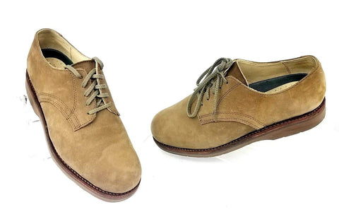 LL Bean Vintage Casual Suede/Leather Men Oxfords  Size 8 W