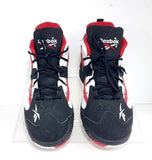 Reebok Hexalite Rail Black/White/Red Men Athletic Sneakers Size 7