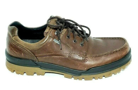 Ecco Gore-Tex Track Low Hiking Shoe Men US 11/11.5 Leather Shoes EU 45