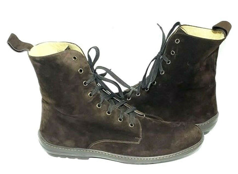 Cole Haan Collection Nike Air Brown Leather/Suede Men Boots Size 11.5M