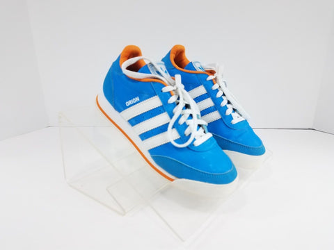 Adidas Originals Orion 2 Blue/White/Orange Children Athletic/Sneakers Youth Size 1.5