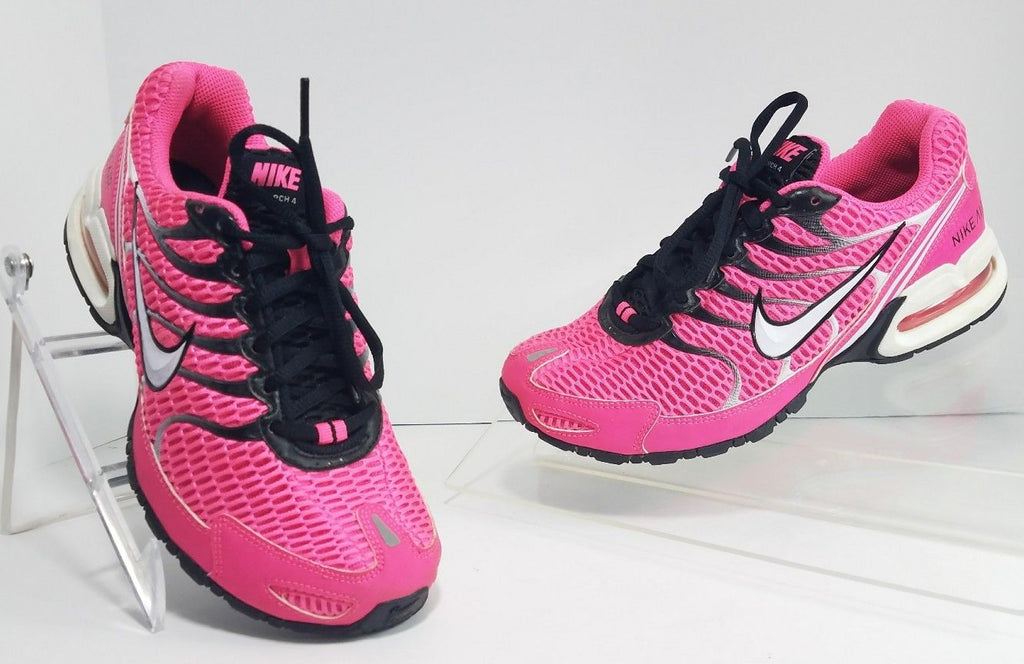 0d7bacd2a54 Nike Air Max Torch 4 Pink Black White 343851-610 Running Women Sneakers