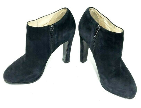Christian Louboutin Vicky Booties 120 Suede Ankle Women Fashion Boots Black Suede EUR 36/6