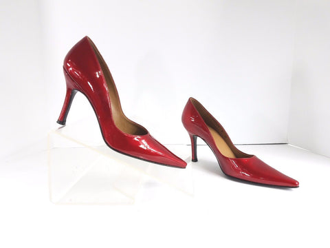 Stuart Weitzman Stiletto Quasar Red Pointed Toe Women Heels/Pumps Size 5