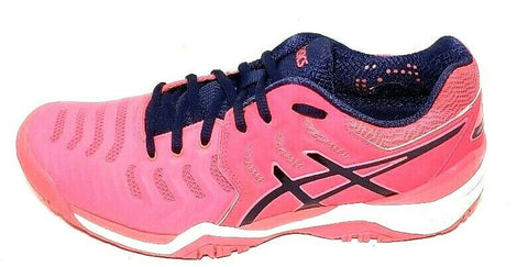 Asics Gel Resolution 7 Pink/Blue Women Sneakers Size 8