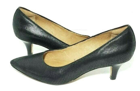 Clarks Indigo Pointed Toe Black Women Heels/Pumps Size 6M