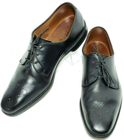Allen Edmonds Flatiron Derby Brogue Toe Mens Black Leather Size 11D