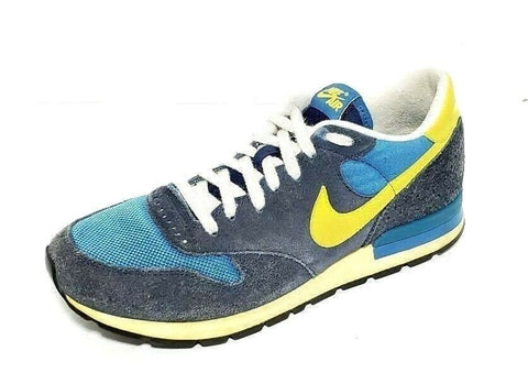 e289c5ad80a28c Nike Air Epic Vintage Blue Yellow Men Athletic Sneakers Size 9 – Sho ...