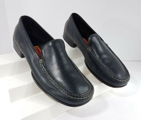 Cole Haan Country Black Leather Loafers Classic Women Fashion Casual Shoes 6 B