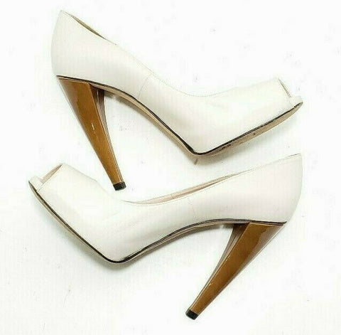 Stuart Weitzman Pumps Platform Peep Toe High Heel Stiletto Womens Size 9 EUR 40