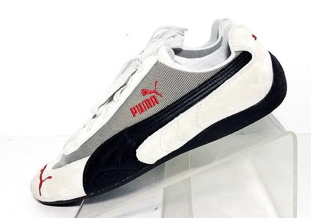 Puma Speed Cat Running Lace Up Gray Leather/Suede Women ...