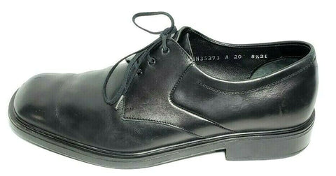 Salvatore Ferragamo Studio Black Leather Men Oxfords Size 8.5EE