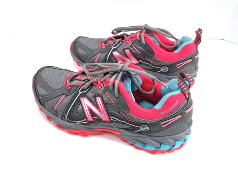 New Balance 573 Trail Gray/Pink/Blue Running Women Sneakers Size 10