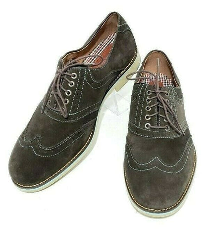 Johnston & Murphy Wingtip Size 10.5M Shoe Flex System Sheepskin 20-0942