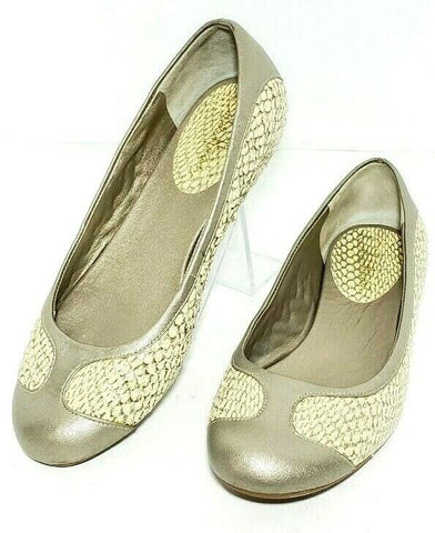 Cole Haan Nke Air Snakeskin Women Fashion Casual Shoes Flats Size 7B