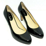 Cole Haan Women Heels/Pumps Black Patent Leather Classic Size 8B