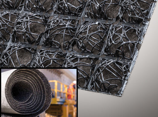 Retaining Wall Drainage fabric comes in rolls