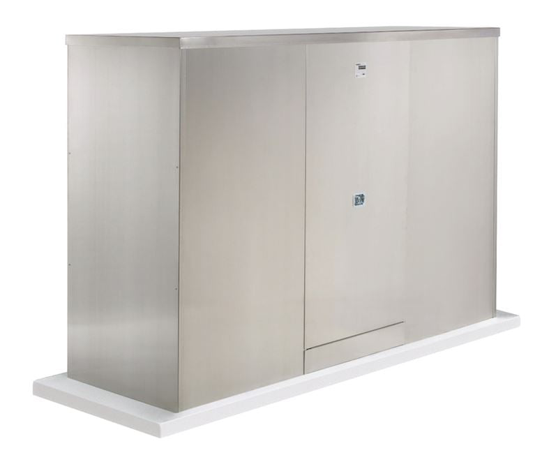 Backflow Enclosure - 600T-AL - 2 Doors - Safe-T-Cover