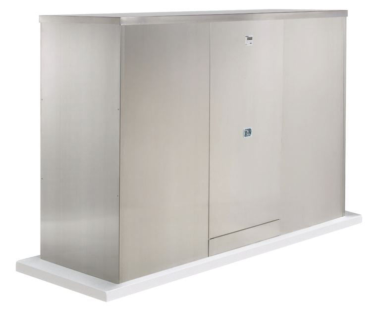 Backflow Enclosure - 600TS-AL - 2 Doors - Safe-T-Cover