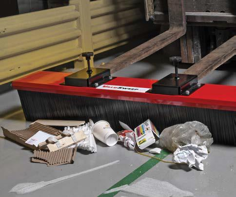 "Forklift Broom Sweeper 48"" - SweepEx ValuSweep - VSB-048"