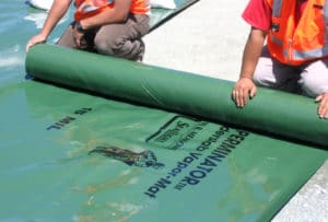 Perminator vapor barrier at jobsite