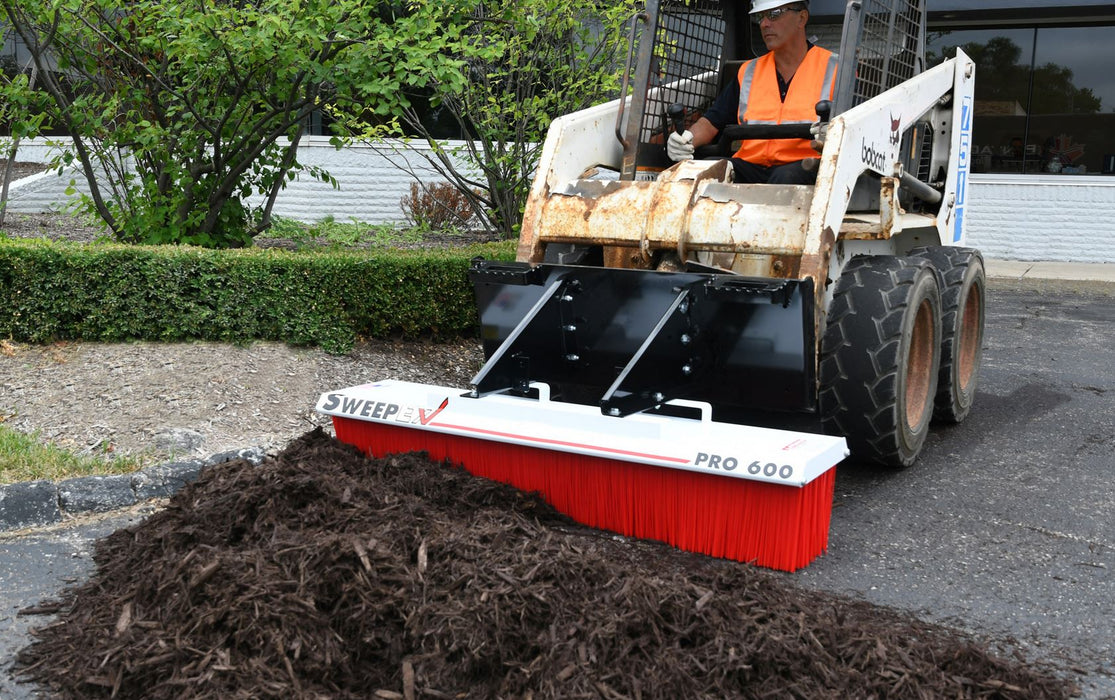 "Skid Steer Broom 60"" - SPB-600"