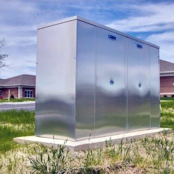 Aluminum Backflow Enclosure Hot Box by Safe-T-Cover