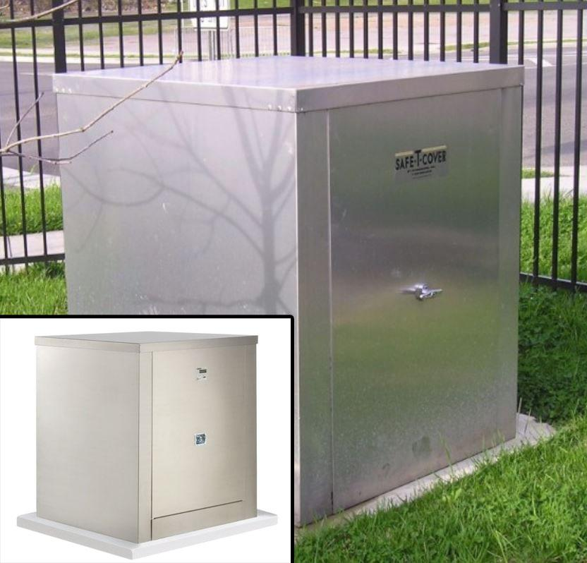 Safe-T-Cover Enclosure Provide Protection from Vandalism