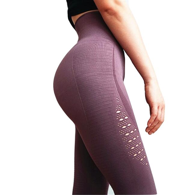 High Waist Tummy Control Yoga Leggings - Stretch Lane