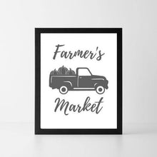 Load image into Gallery viewer, Farmer's Market | Printable Instant Digital Download Sign | Fall