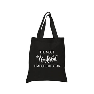 The Most Wonderful Time of the Year Tote Canvas Bag
