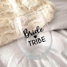 Load image into Gallery viewer, Bride Tribe Wine Glass