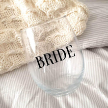 Load image into Gallery viewer, BRIDE Wine Glass