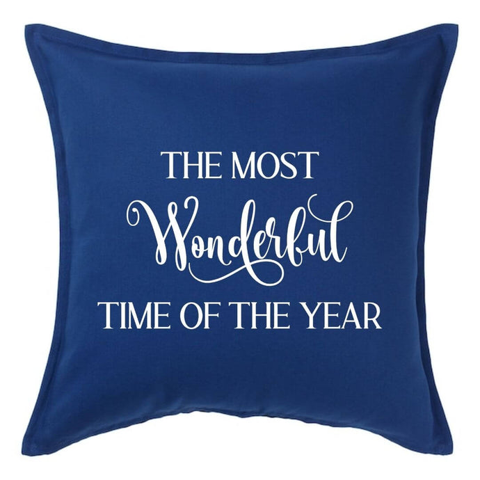 The Most Wonderful Time of the Year Pillow | Pillow Cover | Cushion Cover