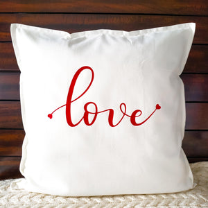 Love Pillow | Pillow Cover | Cushion Cover - Crystal Rose Design Co.