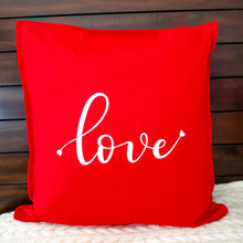 Load image into Gallery viewer, Love Pillow | Pillow Cover | Cushion Cover - Crystal Rose Design Co.