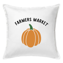 Load image into Gallery viewer, Farmers Market Pumpkin Pillow | Pillow Cover | Cushion Cover