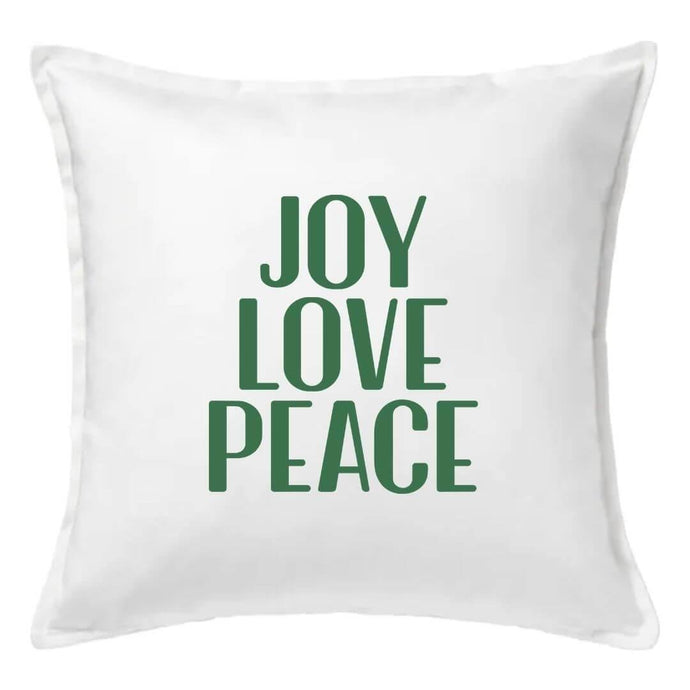 Joy Love Peace Pillow | Pillow Cover | Cushion Cover