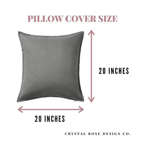 Gather Together Pillow | Pillow Cover | Cushion Cover - Crystal Rose Design Co.