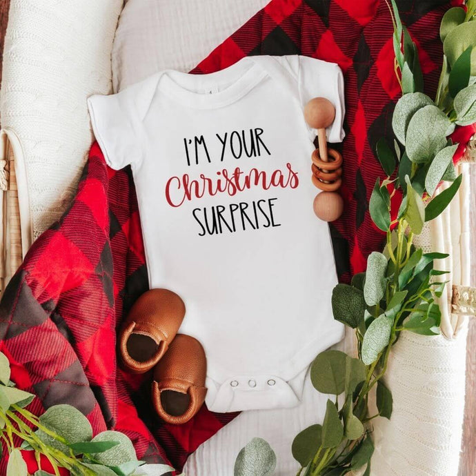 I'm Your Christmas Surprise Onesie