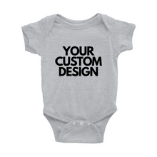 Load image into Gallery viewer, Custom Baby Onesie - Crystal Rose Design Co.