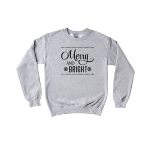 Merry and Bright Crewneck Sweater