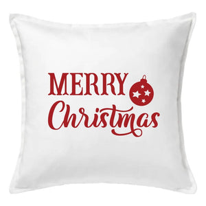 Merry Christmas Ornament Pillow | Pillow Cover | Cushion Cover