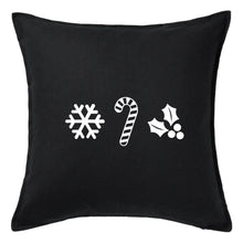Load image into Gallery viewer, Holiday Ornaments Pillow | Pillow Cover | Cushion Cover