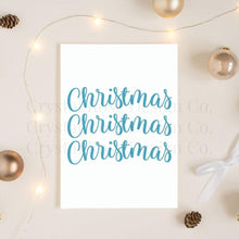 Load image into Gallery viewer, Christmas Pattern Poster | Printable Instant Digital Download Sign | Christmas