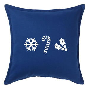 Holiday Ornaments Pillow | Pillow Cover | Cushion Cover