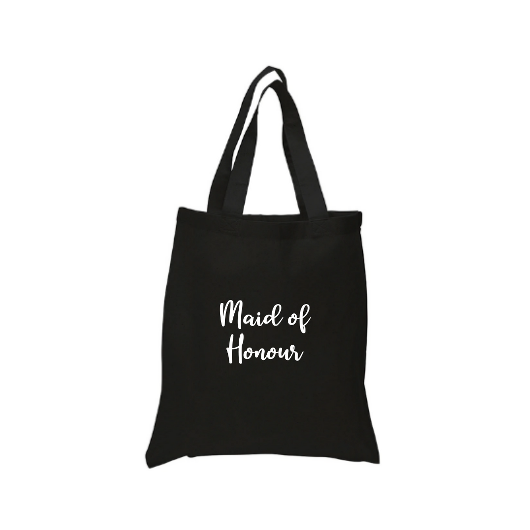 Maid of Honour Tote Canvas Bag