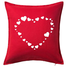 Load image into Gallery viewer, Heart Pattern Pillow | Pillow Cover | Cushion Cover - Crystal Rose Design Co.
